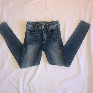 American Eagle High Rise Jeggings Size 2